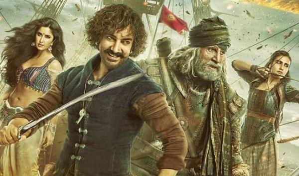 thugs of hindostan box office collection one week