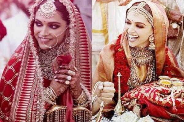 deepika padukone wedding bridal look copy of her padmaavati