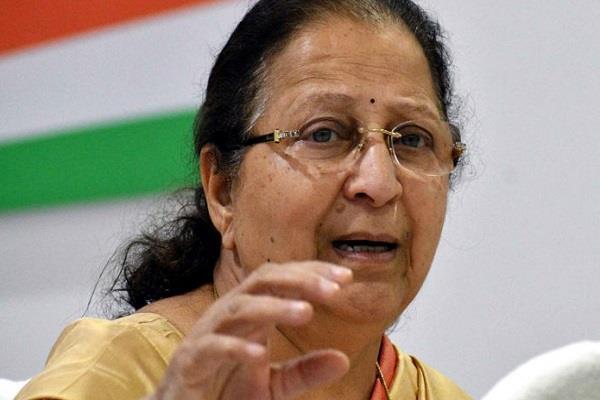 sumitra mahajan s big statement can be quote anti incan