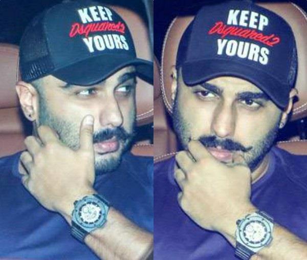 arjun kapoor revealed new look