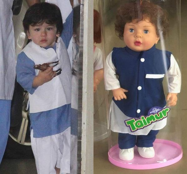 Image result for taimur doll""