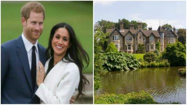 prince harry meghan will move into new royal cottage