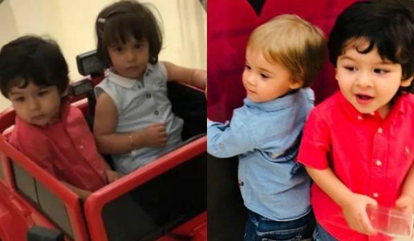 taimur play with yash and roohi
