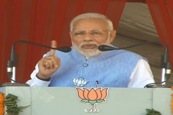 राम मंदिर पर बोले पीएम मोदी- न्यायिक प्रक्रिया में दखल दे रही कांग्रेस