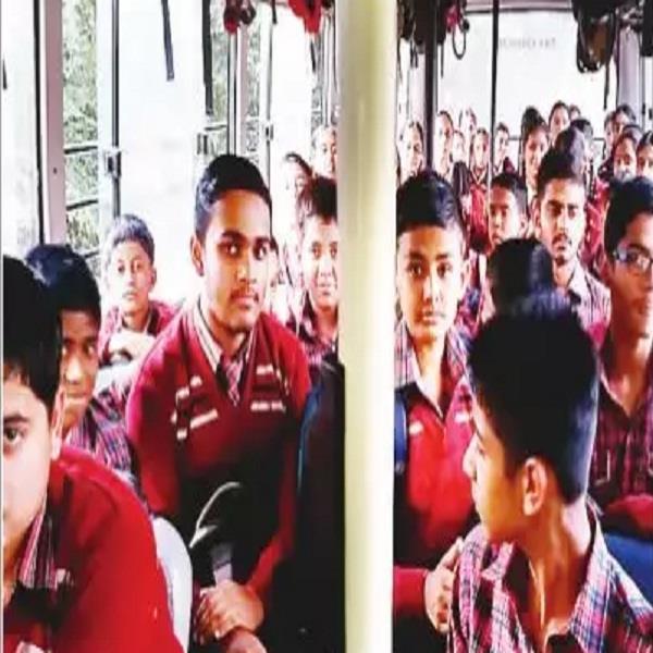 noor school buses awaiting bus accident