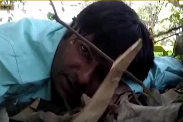 video of naxalite attack created even before death