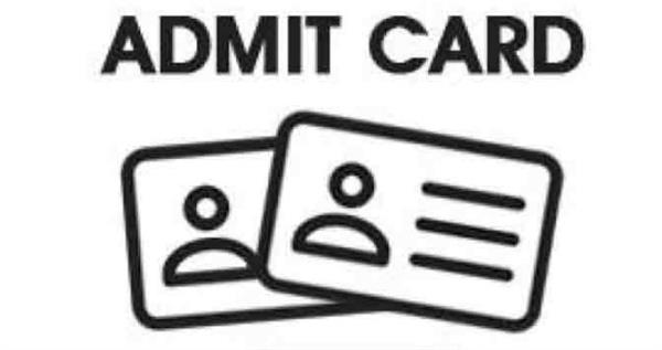 hssc si admit card can released today