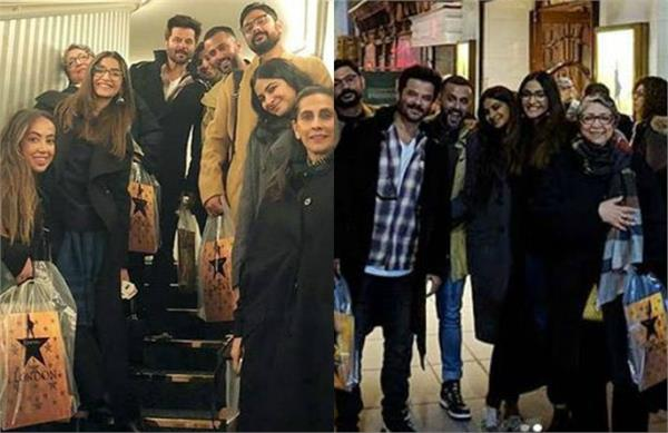 sonam kapoor celebrated diwali with husband anand and family