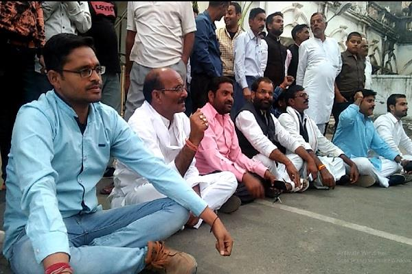 praveen pathak s protest protesters claim to defeat