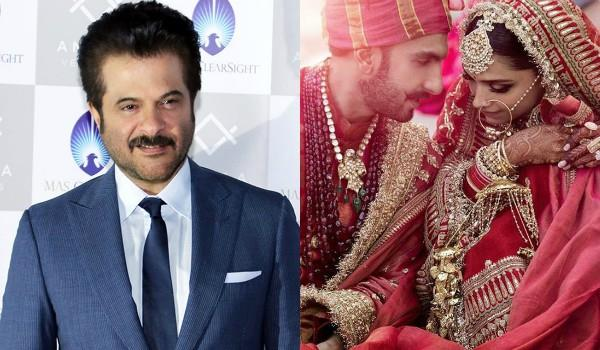 anil kapoor congratulates newly weds deepveer on social media