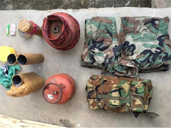 militants hideout busted in kashmir shopian