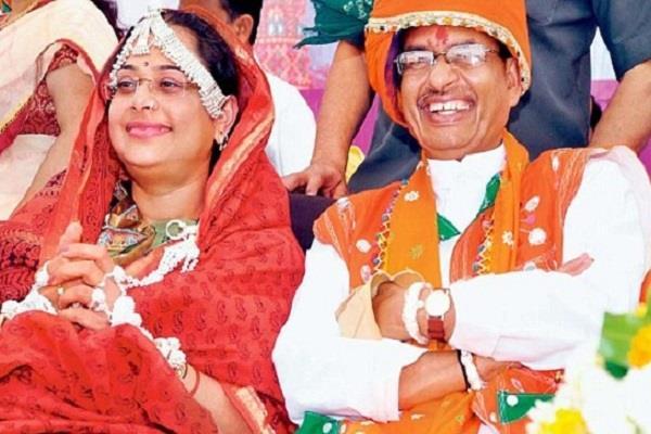 cm is twice as rich as shivraj his wife sadhana