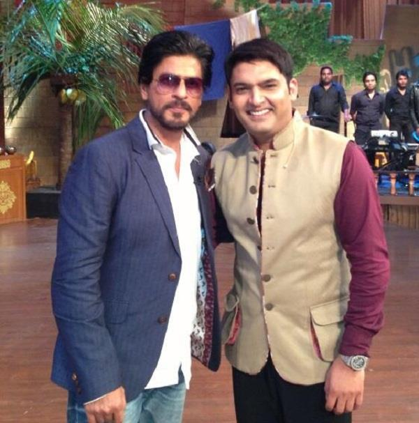 kapil sharma to make a grand entry on tv with shah rukh khan