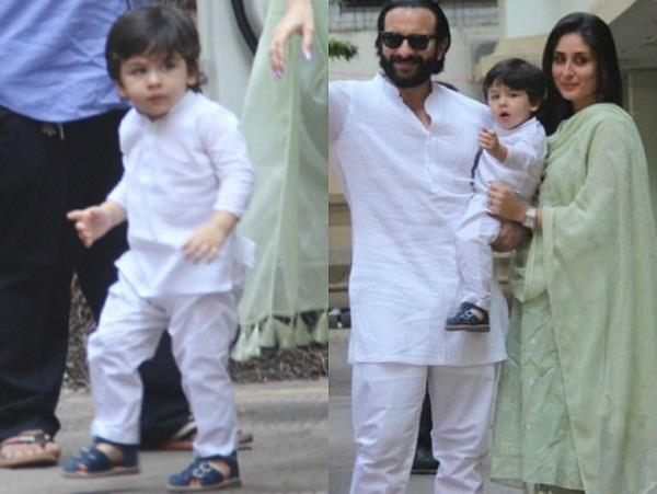 taimur ali khan celebrates his diwali with karisma kapoor
