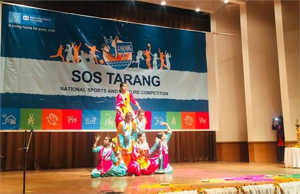 children displayed talent in sos wave