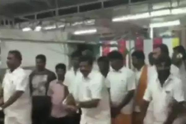 tamilnadu video viral coimbatore sp velumani