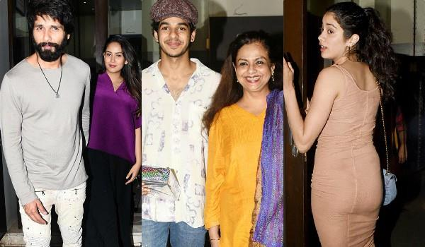 ishaan khatter celebrated his birthday with family