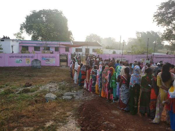 voting for 18 assembly seats in chhattisgarh