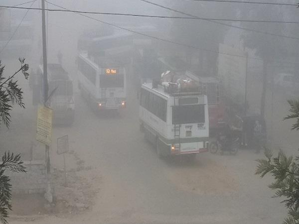 himachal in mist of reason spread out dark
