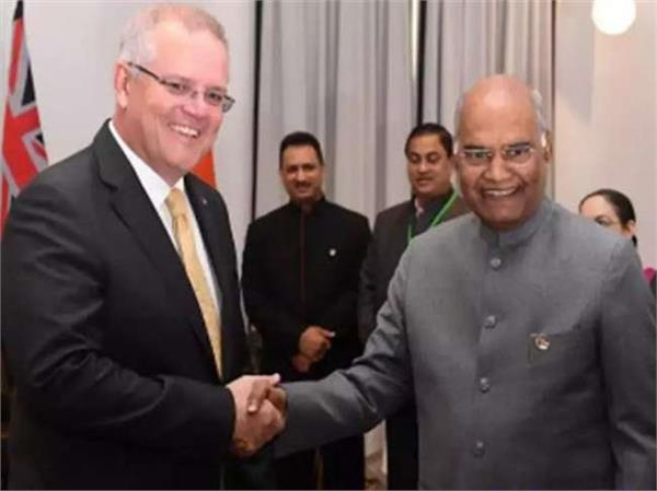 kovind s visit to australia added momentum to bilateral ties