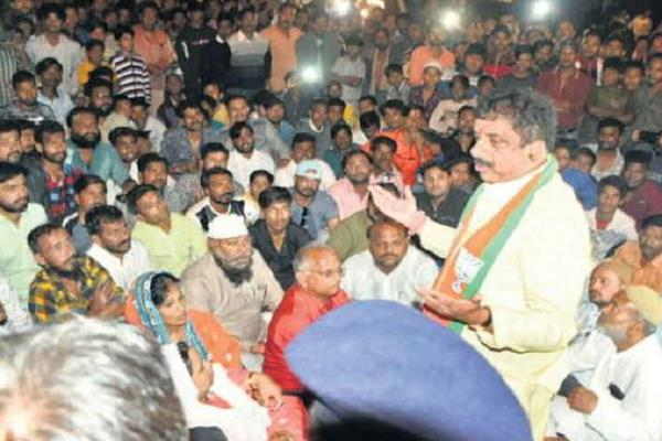 case against mayor and bjp mla after election