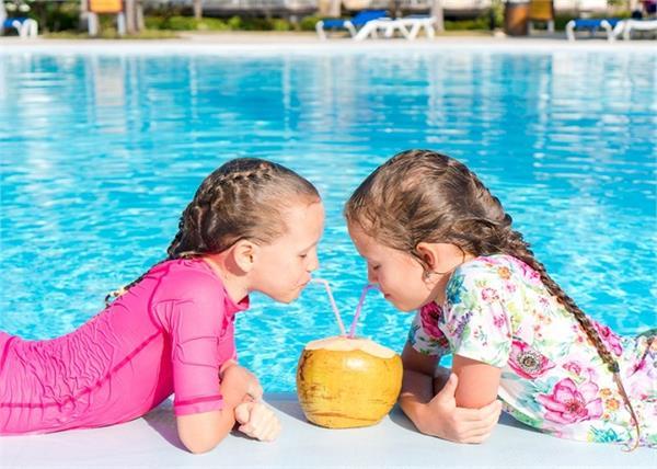 बच्चों का एनर्जी बूस्टर है नारियल पानी, कफ और फ्लू के लिए बेस्ट टॉनिक