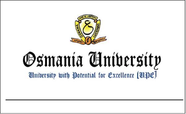 osmania university issued results of m pharm b ed