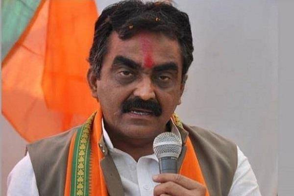 bjp chief s big attack on congress