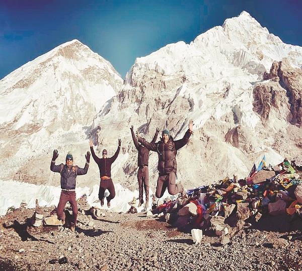 jalandhar boys in mount everest