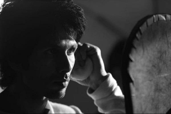 shahid kapoor new look from film kabir singh