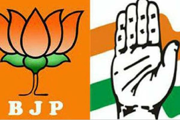bjp 80 of congress candidates decide fierce opposition to these seats