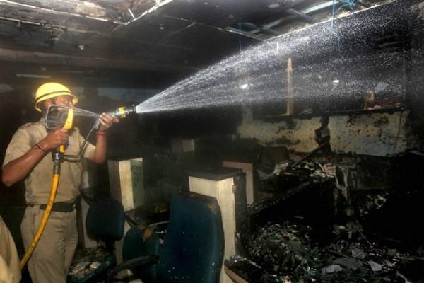 300 incidents of fire incident 2 children s death in deepawali