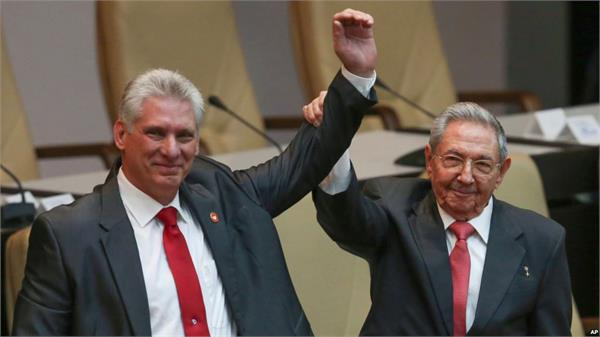 cuban president visits north korea