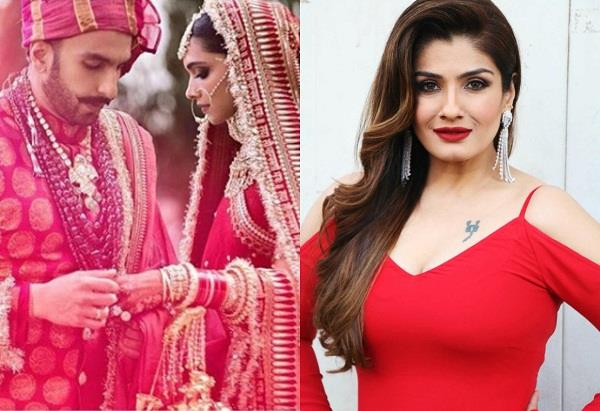 raveena tandon reveals a secret about deepika padukone