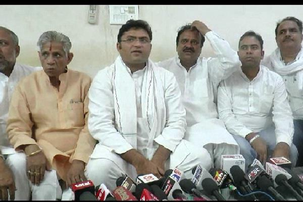 ashok tanwar ready to welcome inld workers in congress