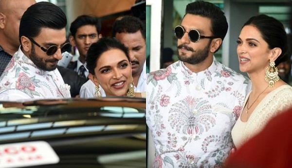 deepveer reached bangalore