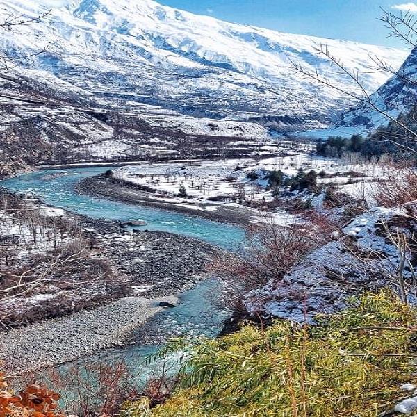 rain snowfall in lahaul spiti zero temperature