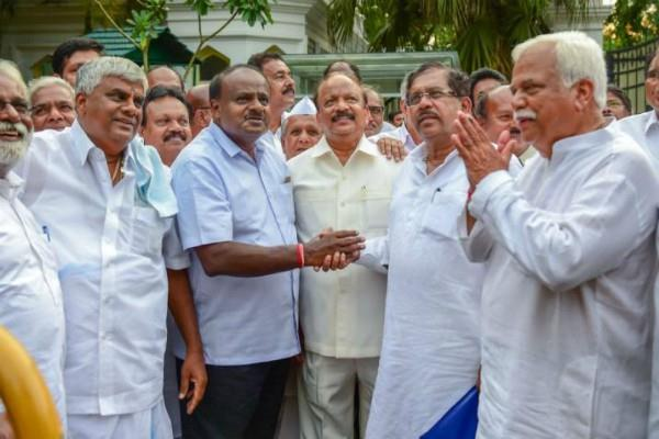 karnataka by election congress jds alliance win 4 out of 5 seats
