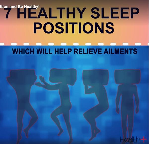 choose the right sleep position and be healthy
