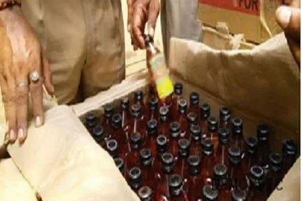 900 liters alcohol and 200 bottles of illegally recovered