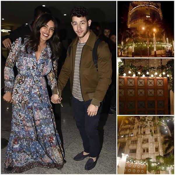 Priyanka-Nick Wedding! उम्मेद भवन पैलेस में वेडिंग डैकोरेशन शुरू, See Pics