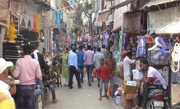 prayagraj ranau chinese goods market in diwali