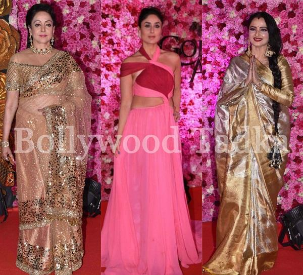 bollywood stars at lux golden rose awards