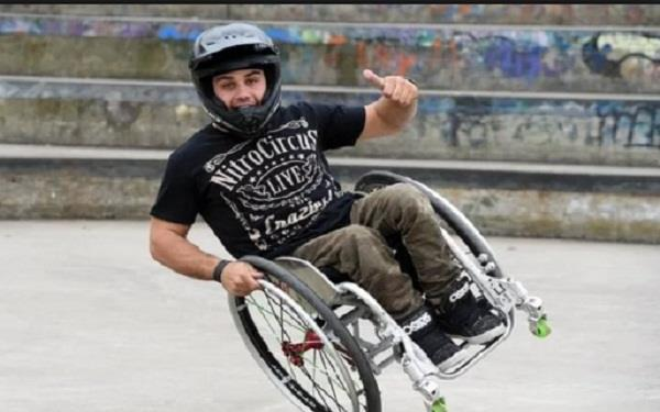 extreme wheelchair whiz aaron fotheringham ramps up