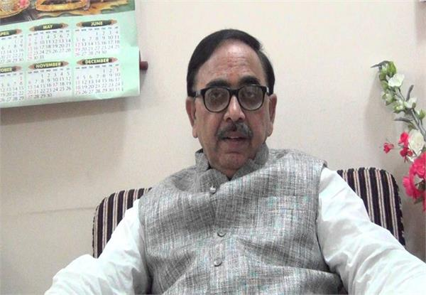 dr mahendra nath pandey speaking on the ram temple