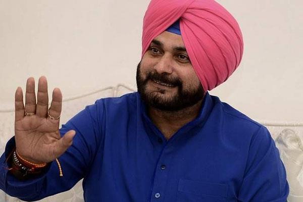 navjot sidhu says my captain is rahul gandh