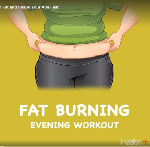 exercises that burn stomach fat and shape your abs fast
