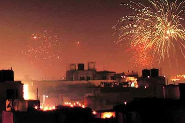 fireworks can be run only for hours on diwali