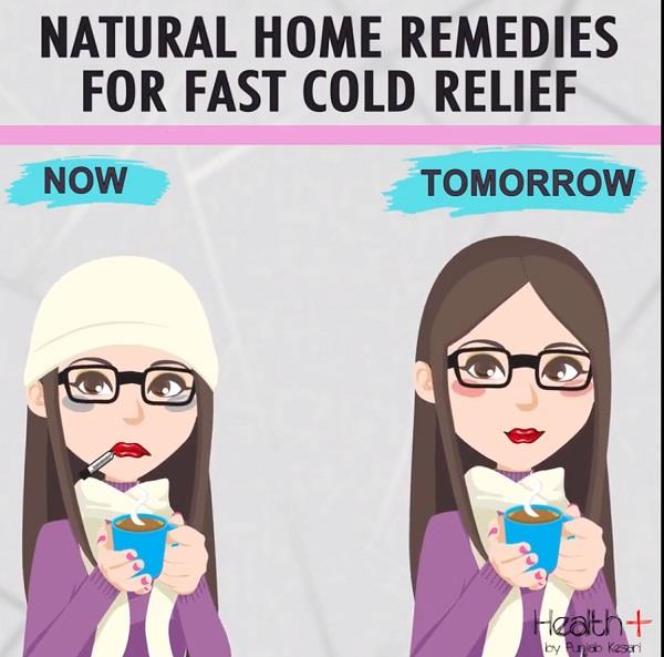 natural home remedies for fast cold relief