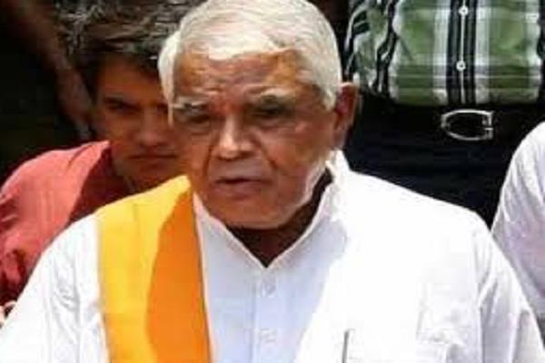 p election babulal gaur gave big statement about  familyism